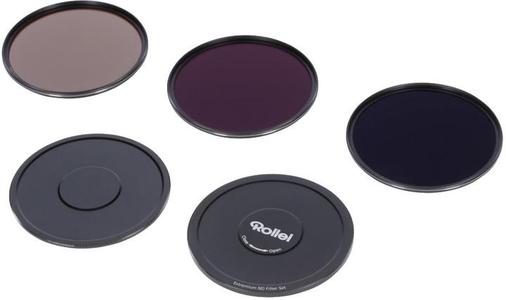 Rollei set 3x ND filtrů/ND8 + ND64 + ND1000/velikost 100 mm