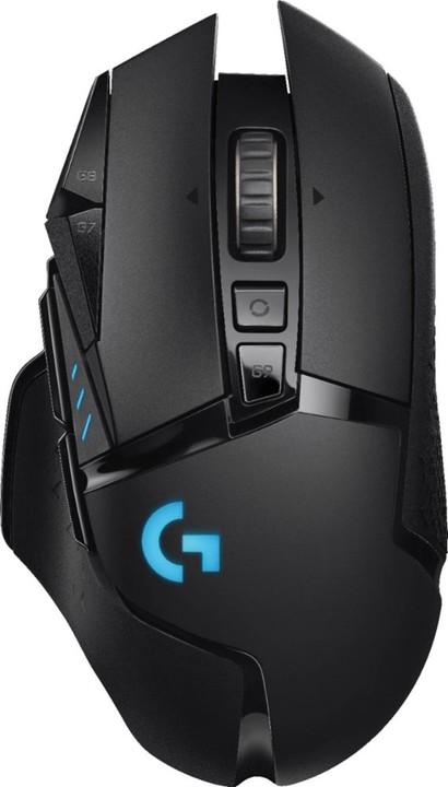Logitech G502 Lightspeed, černá