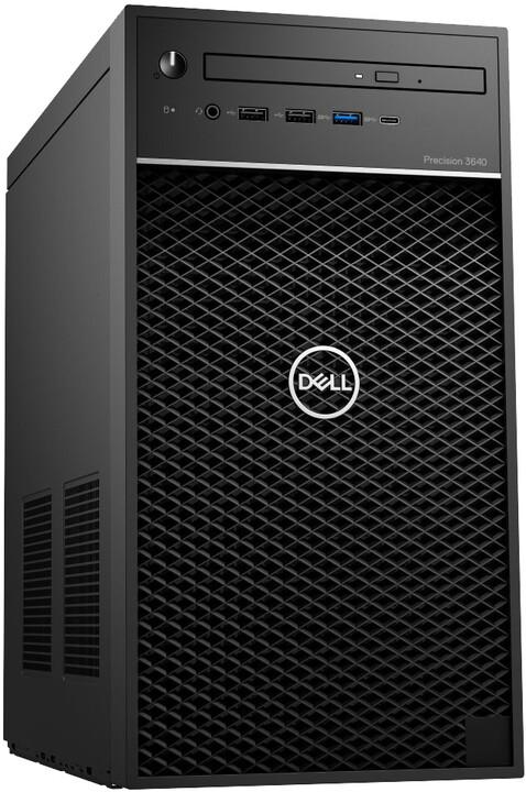 Dell Precision T3640 MT, černá
