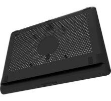 """Cooler Master chladící podstavec NotePal L2 pro notebook 17"""", 1xUSB, modré LED, černá - MNW-SWTS-14FN-R1"""