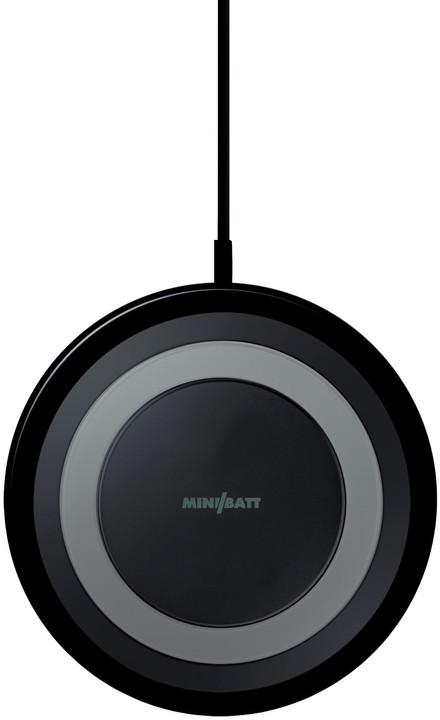 MiniBatt UltraSLIM Qi bezdrátová fast charge nabíječka