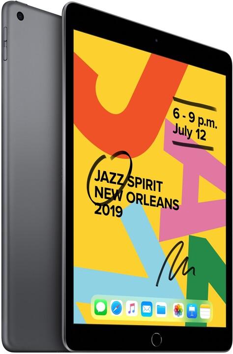 """Apple iPad 2019, 10.2"""" Wi-Fi 128GB, Space Grey"""