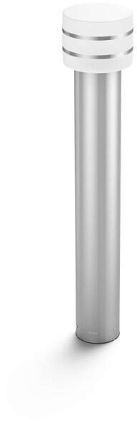 Philips venkovní sloupek Hue Tuar E27, LED, 9.5W, IP44, nerez
