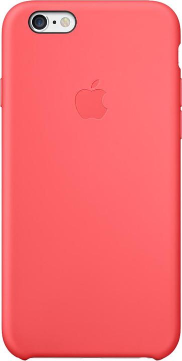 Apple Silicone Case pro iPhone 6, růžová