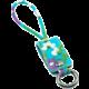 MIZOO USB/ microUSB klíčenka K2-04m, modře květovaná