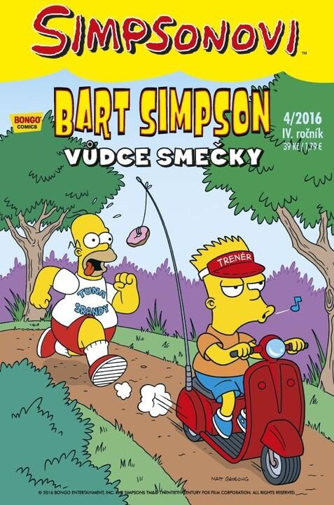 Komiks Bart Simpson: Vůdce smečky, 4/2016