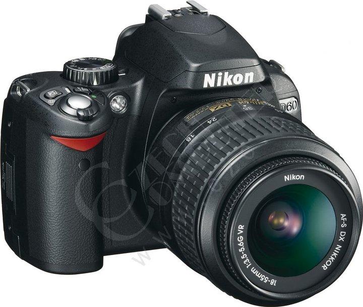 Nikon D60 + objektiv 18-55 II AF-S DX