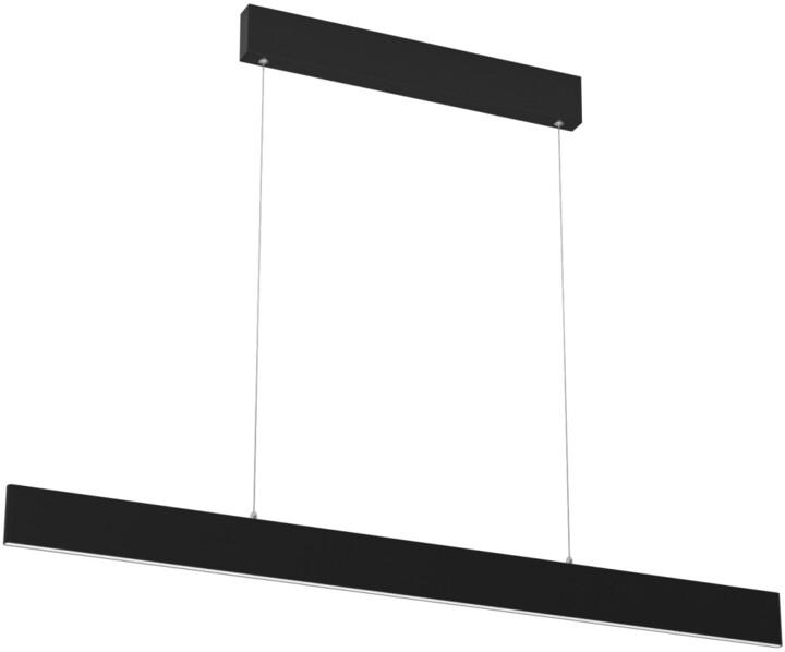 IMMAX NEO LISTON Smart závěsné svítidlo 118cm 18W, černá