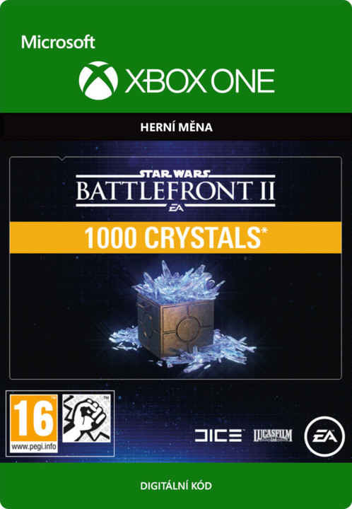 Star Wars Battlefront II - 1000 Crystals (Xbox ONE) - elektronicky