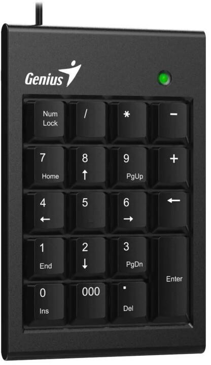 Genius NumPad 100, černá
