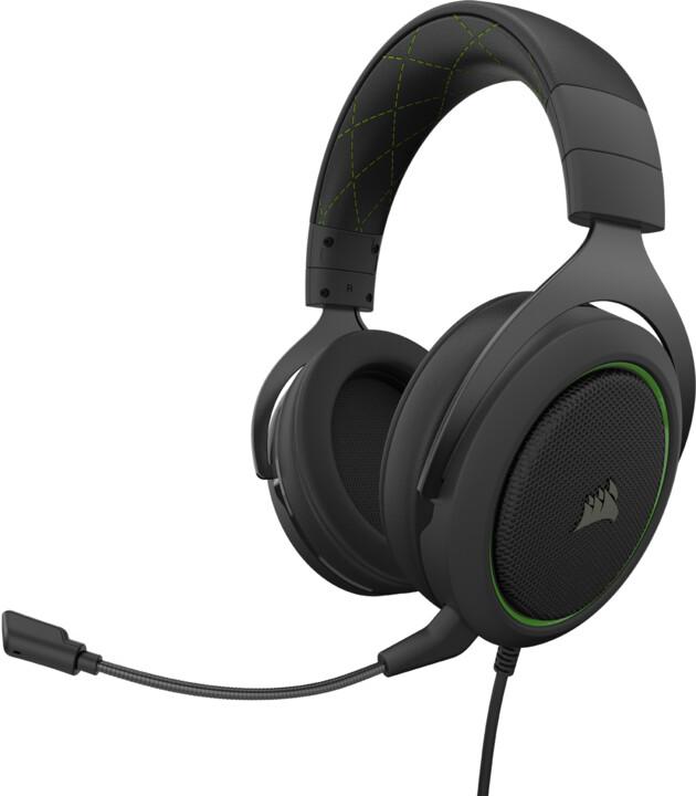 Corsair HS50 Pro Stereo, zelená