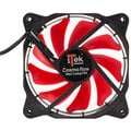 iTek Cosmo Flow - 120mm, Red LED, 3+4pin, Silent