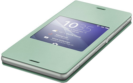Sony pouzdro pro Xperia Z3, zelená