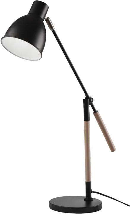 Emos stolní lampa Winston, černá