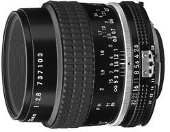 Nikon objektiv Nikkor 55MM F2.8 MICRO A