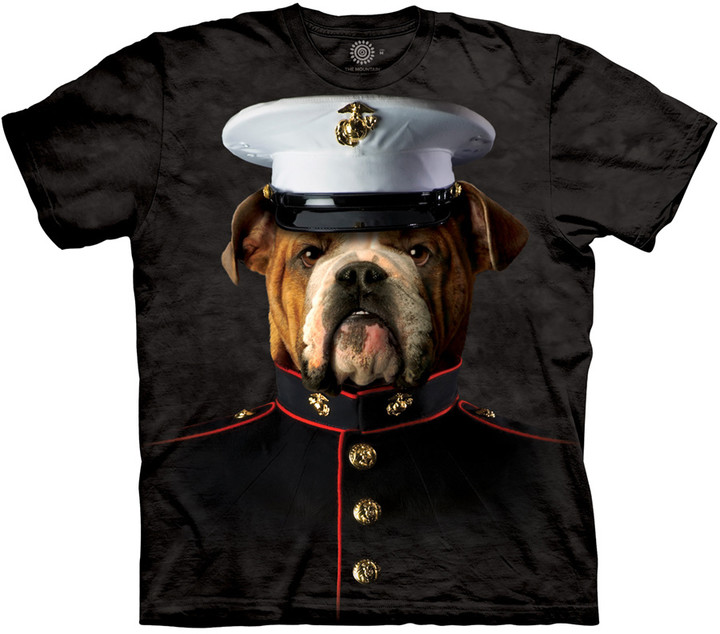 Tričko The Mountain Bulldog Marine (US M / EU L)