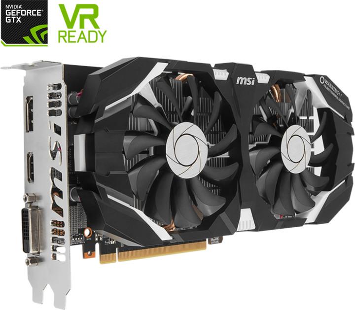 MSI GeForce GTX 1060 6GDDR5 OC, 6GB GDDR5