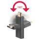 PremiumCord HDMI adapter 19pin Female - 19pin Male otočná ve dvou osách