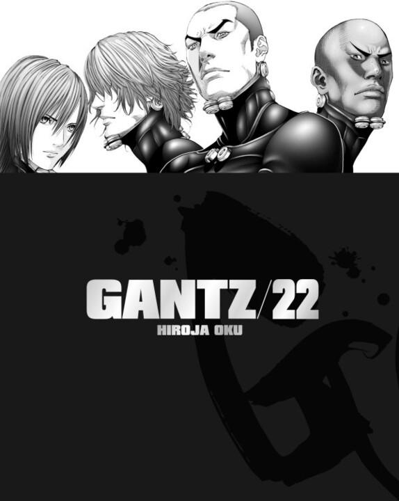 Komiks Gantz, 22.díl, manga