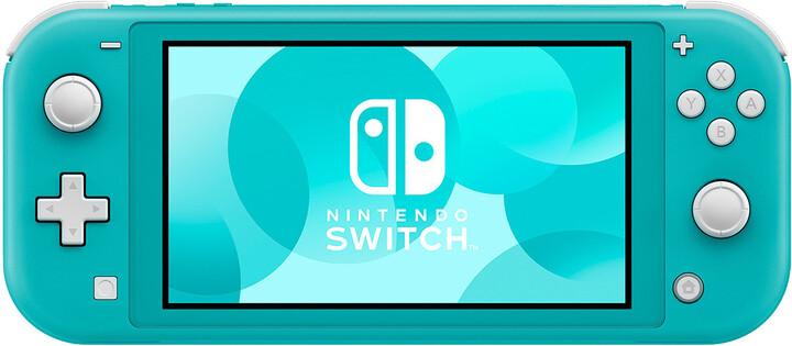 Nintendo Switch Lite, tyrkysová