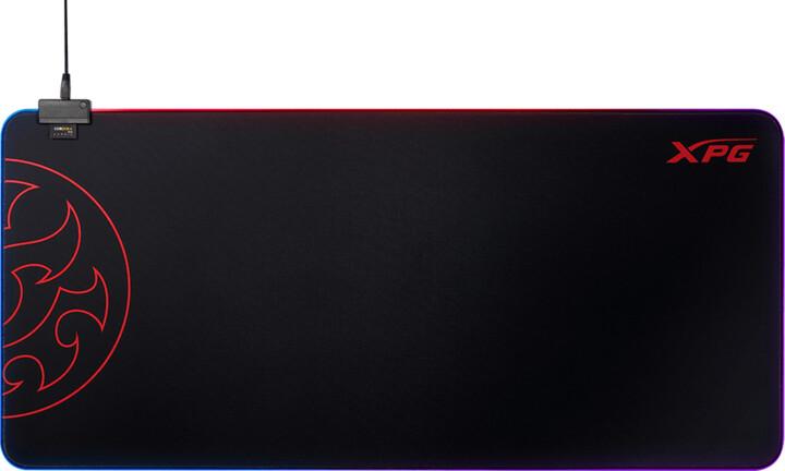 XPG Battleground XL Prime, RGB, černá