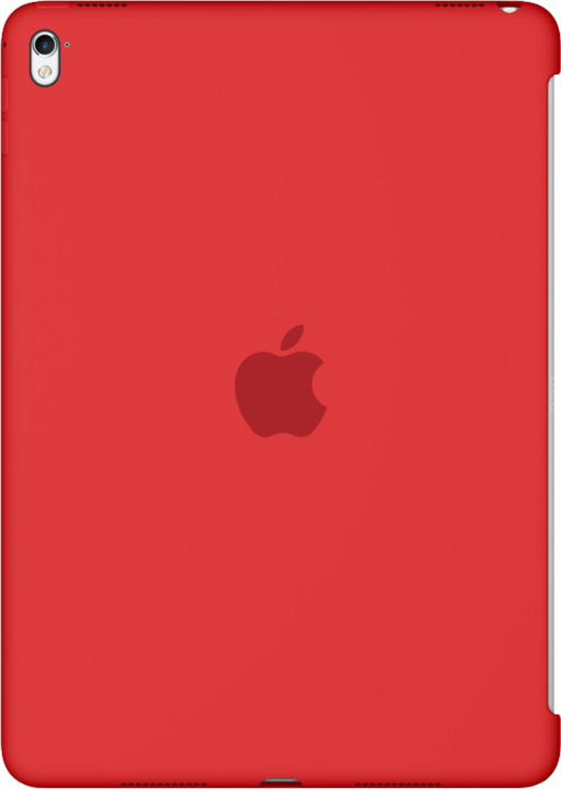 "Apple Silicone Case for 9,7"" iPad Pro - Red"