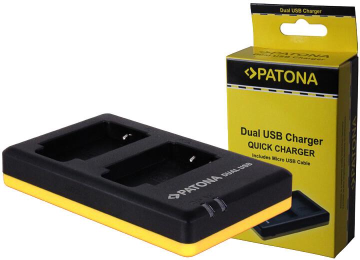 Patona nabíječka Dual Quick Nikon EN-EL19 USB
