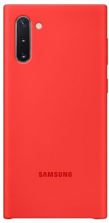 Samsung silikonový zadní kryt pro Galaxy Note10, červená