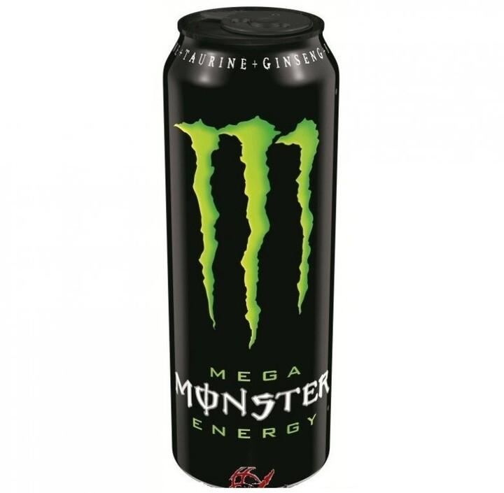 Monster Mega Energy, energetický, 553 ml