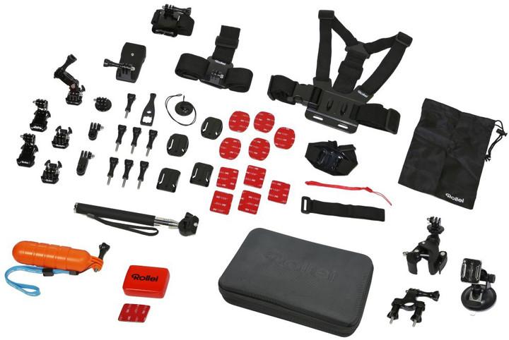 Rollei sada XL příslušenství pro outdoor kamery, 47ks