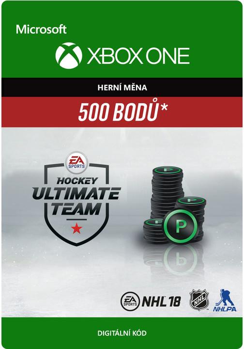 NHL 18 - 500 HUT Points (Xbox ONE) - elektronicky