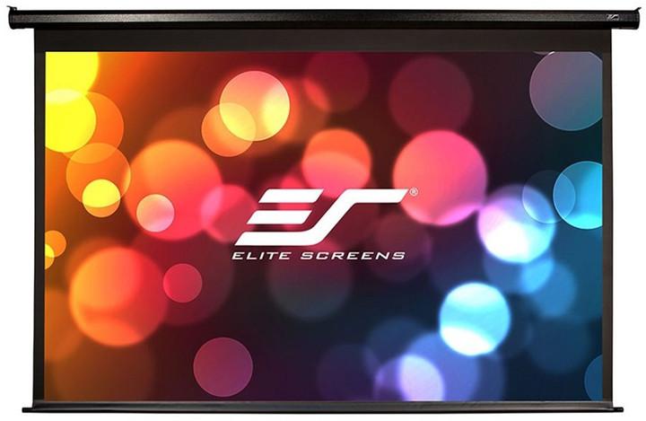 """Elite Screens plátno elektrické motorové 135"""" (342,9 cm)/ 16:9/ 168,1 x 299 cm/ case černý"""