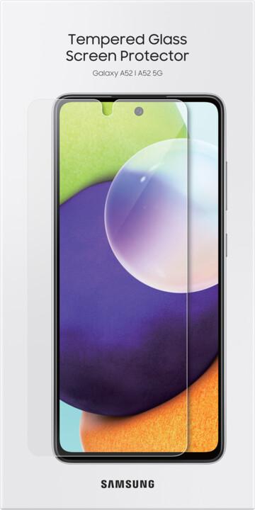 Samsung tvrzené sklo pro Galaxy A52, transparentní