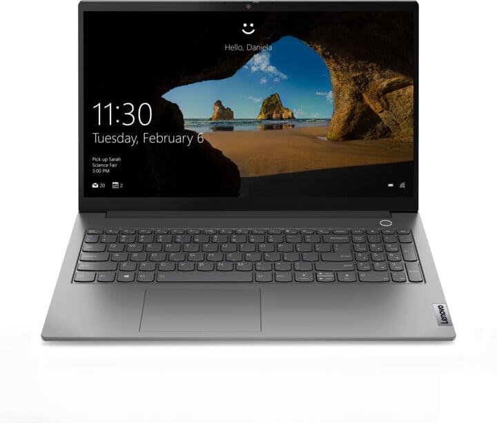 Lenovo ThinkBook 15 G2 ARE, šedá