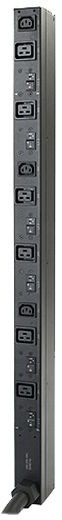 APC rack PDU, Zero U, 14.4kW, 208 V, (6) C19 & (3) C13