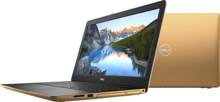 Dell Inspiron 15 (3580), zlatá