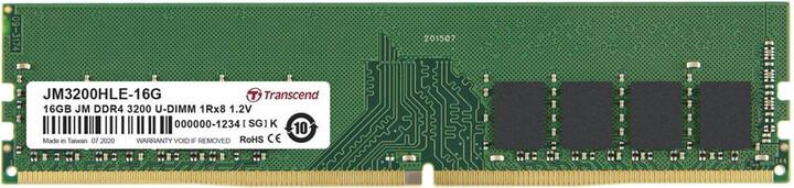 Transcend 16GB DDR4 3200 CL22