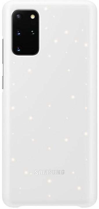 Samsung zadní kryt LED pro Galaxy S20+, bílá