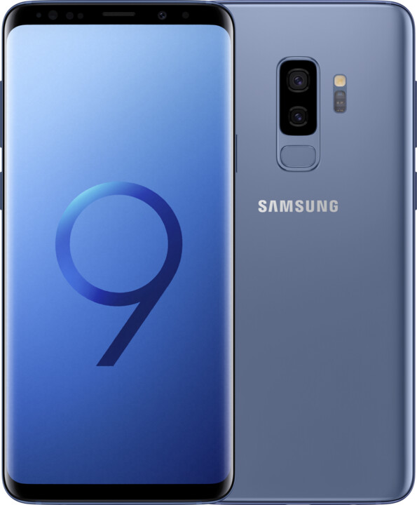 Samsung Galaxy S9+, 64GB, Dual SIM, modrá