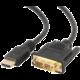 Gembird CABLEXPERT kabel HDMI-DVI 0,5m, 1.3, M/M stíněný, zlacené kontakty