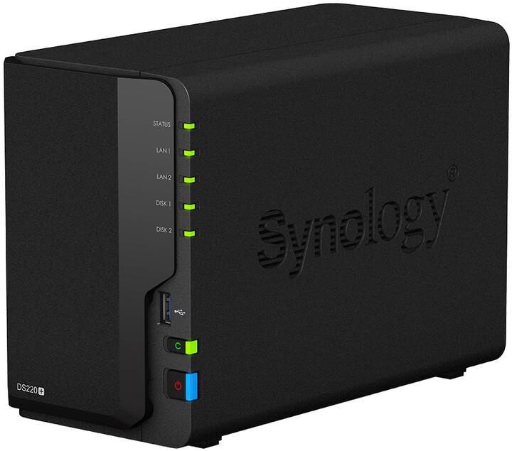 Synology DiskStation DS220+, konfigurovatelná