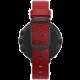 Pebble SmartWatch Time Round, 14mm pásek, černá/červená