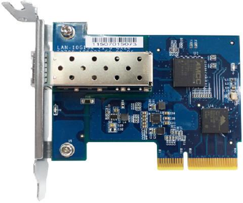 QNAP LAN-10G1SR - síťová rozšiřující karta sítě 10 GbE s jedním portem SFP+