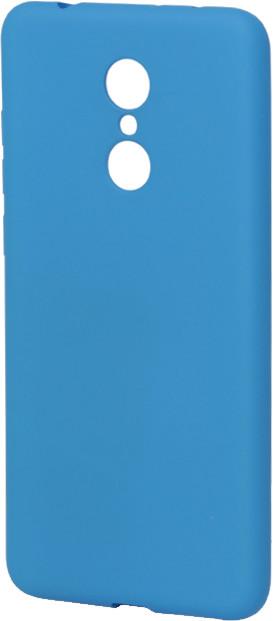 EPICO Pružný plastový kryt pro Xiaomi Redmi 5 SILICONE FROST - modrý