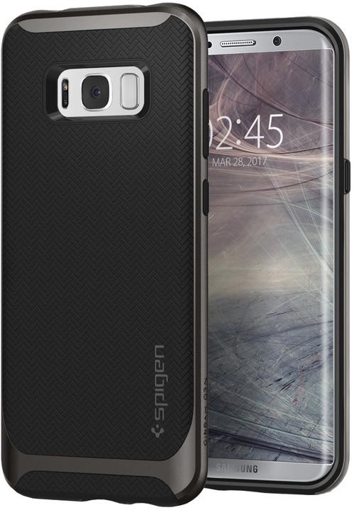 Spigen Neo Hybrid pro Samsung Galaxy S8+, gunmetal
