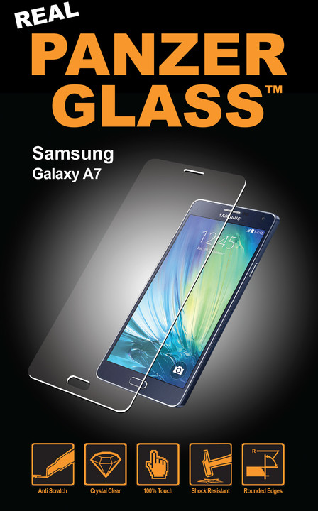 PanzerGlass Standard pro Samsung Galaxy A7, čiré
