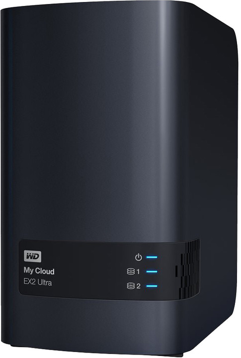 WD My Cloud EX2 Ultra, 8TB (2x4TB)