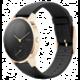 Nokia chytré hodinky Steel HR (36mm) special edition - zlaté s černým řemínkem