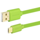 AXAGON BUMM-AM10QG, 1 m, zelený