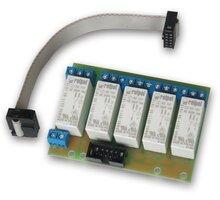 Tinycontrol GSMKON-018 rozšiřující modul pro LAN ovladač, 5x relé, 9-30V, 16A